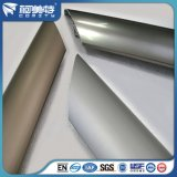 Barandilla de aluminio de la escalera del estándar de ISO con color anodizado