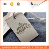 Autocollant de prix de l'habillement Vêtements personnalisés impression des étiquettes imprimées Hang Tags