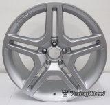la rueda plateada de 5X112 Amg bordea 20 pulgadas para todo el coche