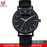Yxl-035 승진 진짜 가죽 여자 시계 숙녀 복장 손목 시계는 손 석영 시계를 주문 설계한다