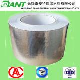 Tissu adhésif en acrylique résistant au solvant Tissu en fibre de verre en aluminium