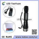 La linterna azul de la antorcha del LED utiliza 3W