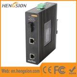 Ethernet de 2 gigabites y 1 interruptor industrial portuario de Netowrk de la fibra