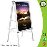 Publicidade B1 B2 Painel Duplo Display Board Display Rack