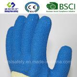 10g de Voering van Kevlar met Handschoenen van het 3/4 de Slimme van de Greep van het Latex Werk van de Deklaag