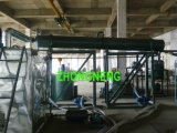 De zwarte Installatie van het Recycling van de Olie van de Motor, de Apparatuur van de VacuümDistillatie van de Olie van het Afval