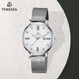 Het nieuwe Eenvoudige Horloge van de Gift van het Kwarts met Waterdichte Kwaliteit 71135