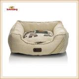 Bestes Leinenhaustier-Bett für Hund u. Katze