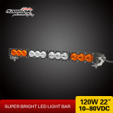 """22 """" carros de barra clara Offroad brilhantes do diodo emissor de luz 120W parte a barra clara do diodo emissor de luz de 12 volts"""