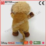 En71 Brinquedos fofos Pêlos de pelúcia Leão em pé