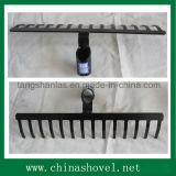 Rake Head Ferramentas agrícolas à mão Steel Rake Head R105