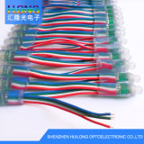 Exposy IC1903 LED 화소 끈 빛 DC5V 0.3W는 방수 처리한다