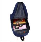 Bolsa da mochila do Satchel do curso da trouxa do saco de escola do ombro da lona dos homens das mulheres