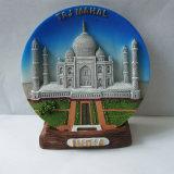 Magnete indiano del frigorifero di abitudine 3D Polyresin per Deco