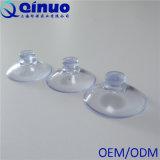 Copo plástico transparente da sução do vácuo da cabeça do cogumelo do vácuo forte do costume 25mm de Qinuo