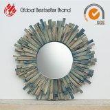 Specchio di legno della parete della decorazione domestica di legno naturale (LH-M170709)
