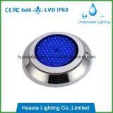 Luz llenada resina de la piscina del control Ss316 LED del RGB WiFi