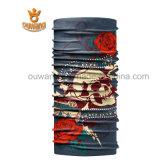 Bandana senza giunte multifunzionale stampato di Headwear della sciarpa del tubo