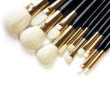 el conjunto de cepillo cosmético 12PCS para la potencia, se ruboriza maquillaje del Eyeliner de la sombra de ojo