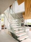 Diseño de escalera para escaleras rectas interiores de la casa