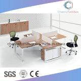 Самомоднейшая рабочая станция компьютера офиса черноты мебели