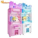 Macchina a gettoni pazzesca del gioco della galleria del distributore automatico del regalo della macchina della gru delle forbici del giocattolo