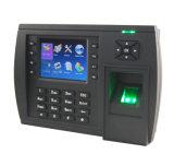 Fingerabdruck-Zeit-Anwesenheit mit benutzerbestimmter Funktionstaste (TFT500)