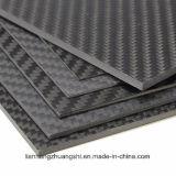 Folha 3k do painel da placa da fibra do carbono Matte/lustrosa
