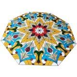 Koepel van het Mozaïek van het Gebrandschilderd glas van het Huis van de Bouw van de kunst de Projecten Geharde
