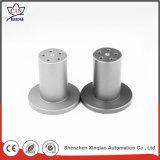 Inspecção completa de peças de usinagem de metais CNC de alumínio