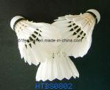 社会集団、トレーニングおよび学校の使用のためのガチョウまたはアヒルの羽のバドミントンShuttlecocks