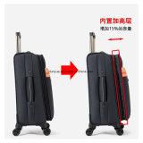 """熱い販売の実用的なオックスフォードファブリック20は""""、24 """"、28の""""自在継手の車輪の荷物のスーツケースセット、カスタム工場トリップのための旅行ケース/トロリー袋を作る"""