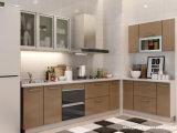 Gabinetes de cozinha de madeira baratos novos para a cozinha