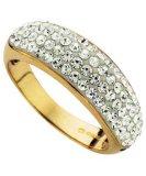 anello di oro giallo 9K con la pietra preziosa (LRG1257)
