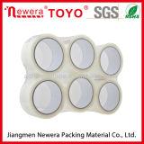 Band Sellotape van de Verpakking van de Verkoop van Newera de Hete Duidelijke Zelfklevende