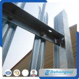 ドイツの高品質の庭の鋼鉄塀/機密保護の錬鉄の塀