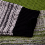 100%Cotton Wholesale Fashion Clothing Striped Knit Men Sweater