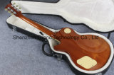 Guitarra elétrica de venda quente do estilo Handmade do Lp da cor do chá de gelo (GLP-65)