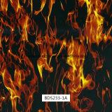 トップセラー火水転送の印刷のHydrographicsのモーターバイクおよび車(BDA106H)のための燃えるような印刷のフィルム