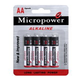 Superalkalische trockene Batterie der leistung-AA/Lr6
