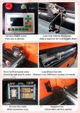 Gravure de laser de tissu de Multilayers et machine de découpage à vendre