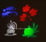 [لد] زخرفيّة خفيفة رسم متحرّك ضوء خارجيّ عطلة ضوء مع 12 وحدات منزلق