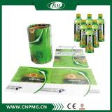 PVC/Pet krimpt het Materiaal het Etiket van de Koker voor Plastic Fles