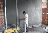 جدار خرسانة آليّة الإنسان الآليّ لصوق مدفع هاون يرجع إسمنت جير آلة