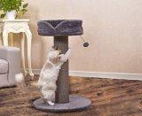 Giocattoli di legno dell'albero del gatto della mobilia del fornitore dell'animale domestico della peluche della Cina (YS98793)