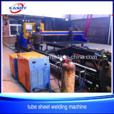 Machine de découpage de flamme de plasma de commande numérique par ordinateur de plaque de feuille de tube de portique Chine
