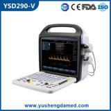 Scanner veterinario portatile approvato di ultrasuono di Doppler di colore di iso del Ce