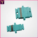 Adattatore ottico duplex della fibra dello Sc