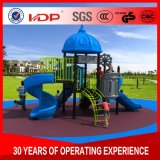 Huadong簡単な様式の幼稚園の多彩な屋外の子供の運動場装置HD16-028b