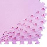 Het goedkope Blad van het Schuim van EVA van de Textuur van de Prijs Grote recycling Geborstelde Roze